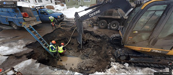 Halifax main break winter 2015 - 1