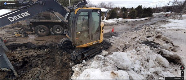 Halifax main break winter 2015 - 2